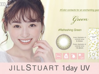 Lens Seed JILL STUART 1DAY UV (Green)