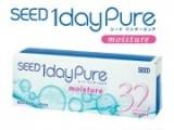Lens Seed 1day không màu cặp