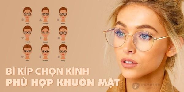 cách chọn kính phù hợp khuôn mặt