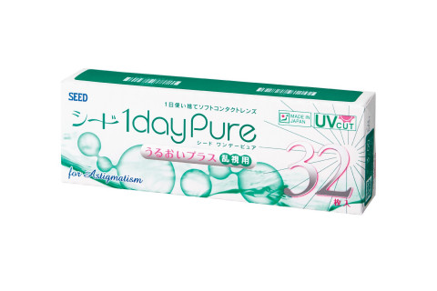 Lens SEED 1DayPure for Astigmatism